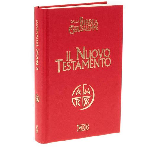 Le nouveau testament, bible de Jérusalem ITALIEN 1