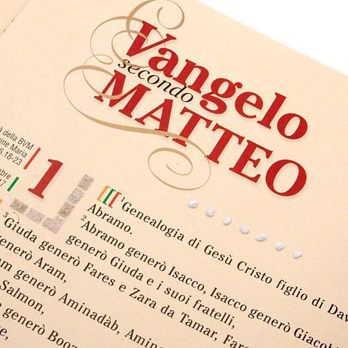 Evangiles avec images en couleur ITALIEN 7