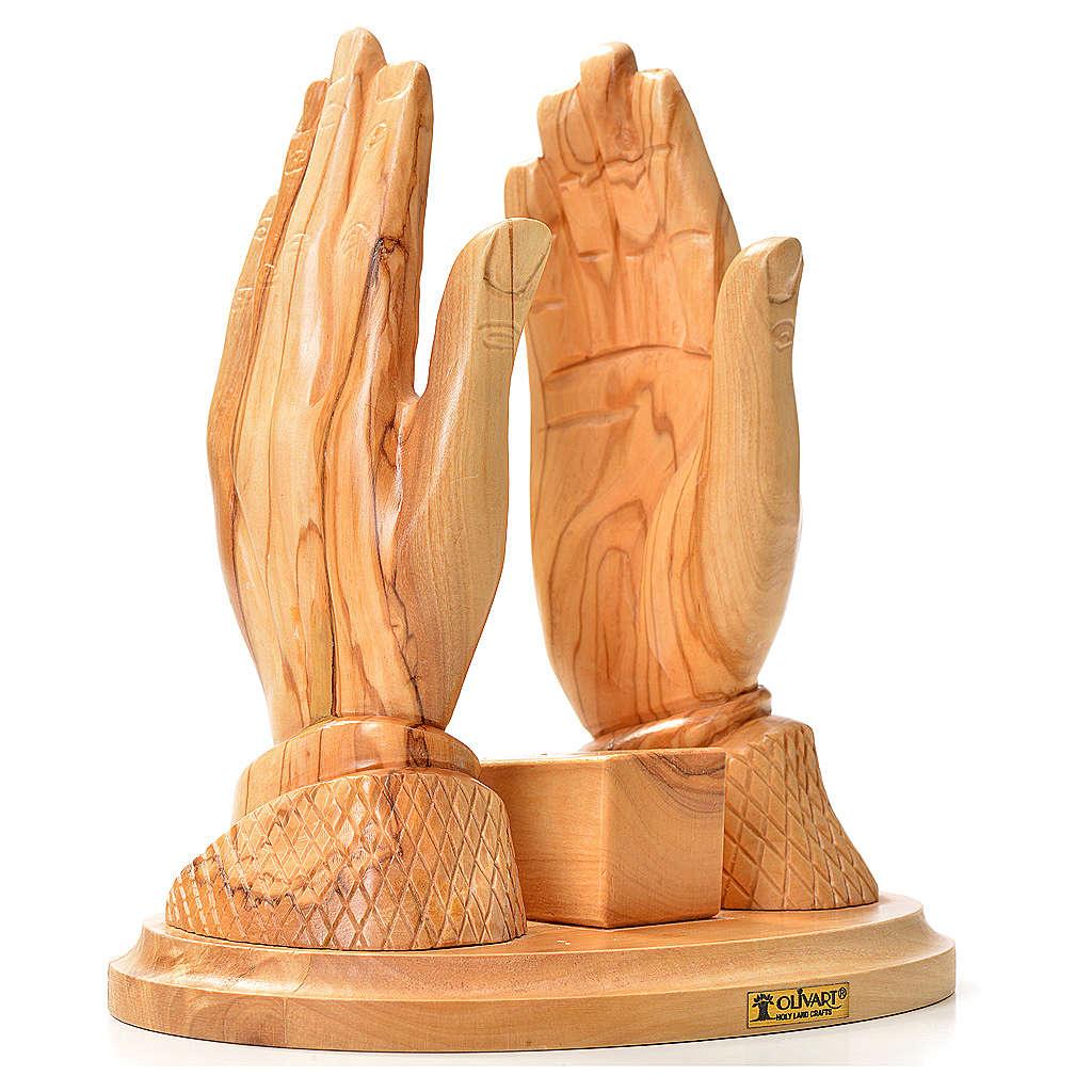 Portavangelo mani olivo con Vangelo 4