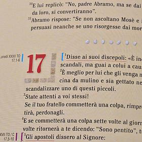 Evangelario edizione da Ambone s7