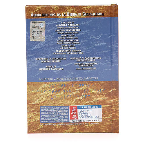 The four Gospels and the Acts of the Apostles CD 2