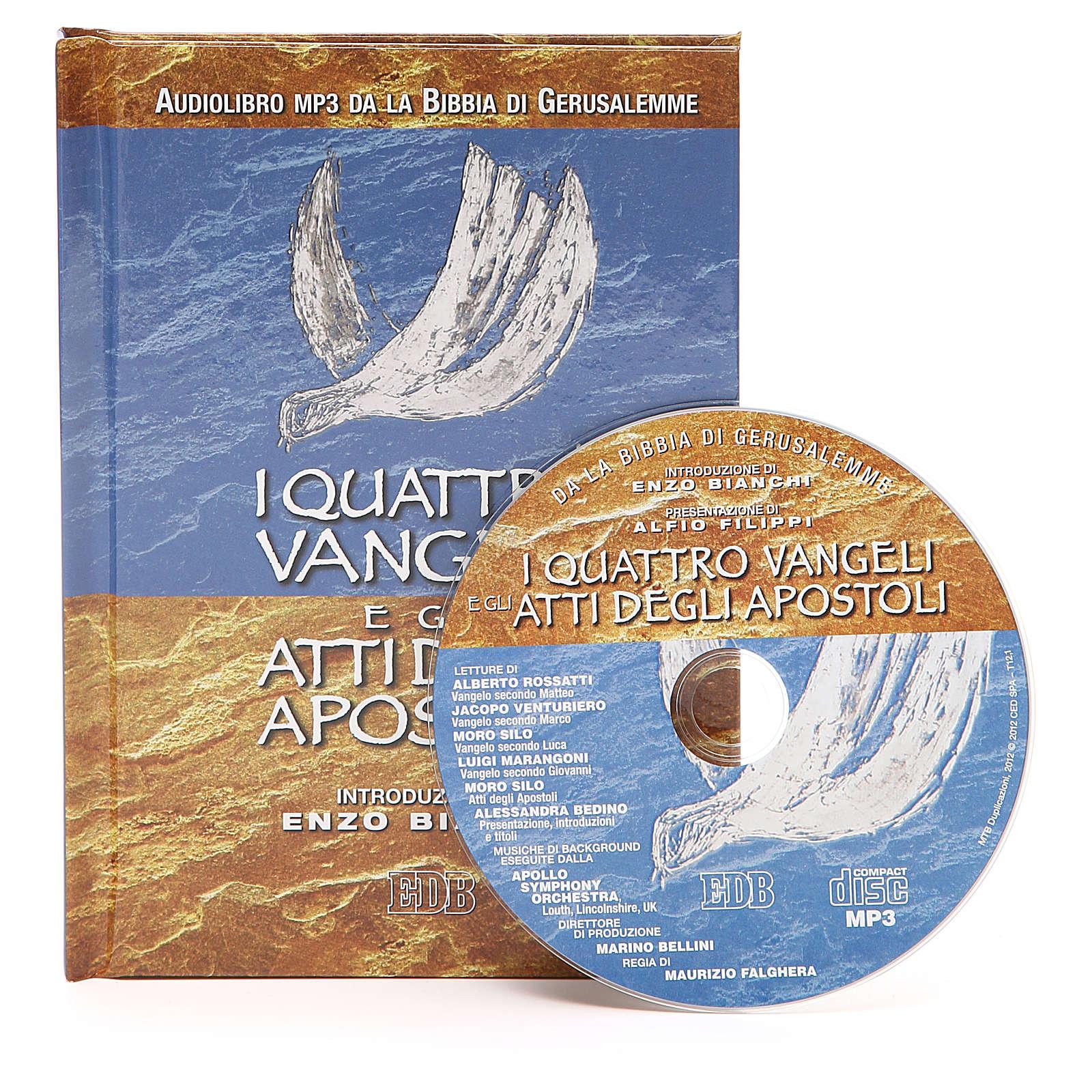 Quattro Vangeli e gli Atti degli Apostoli cd 4