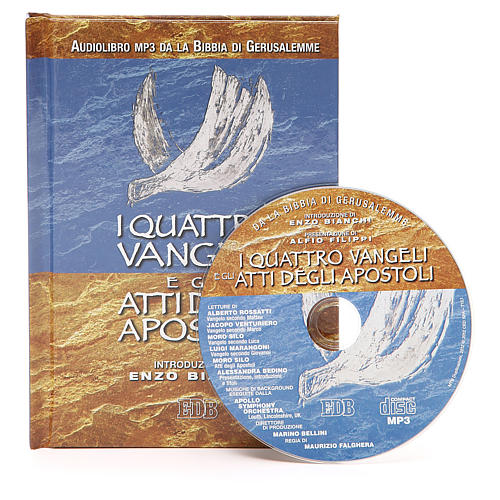 The four Gospels and the Acts of the Apostles CD 1