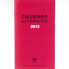 Calendario liturgico 2013 s1