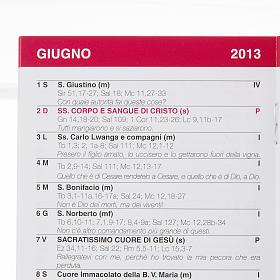 Calendario liturgico 2013 s2