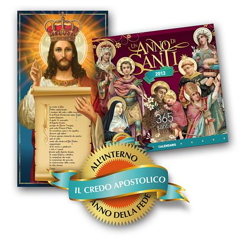 Calendario 2013 Un Anno di Santi 1
