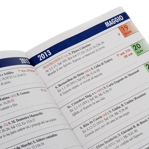 Calendario liturgico anno 2013 2