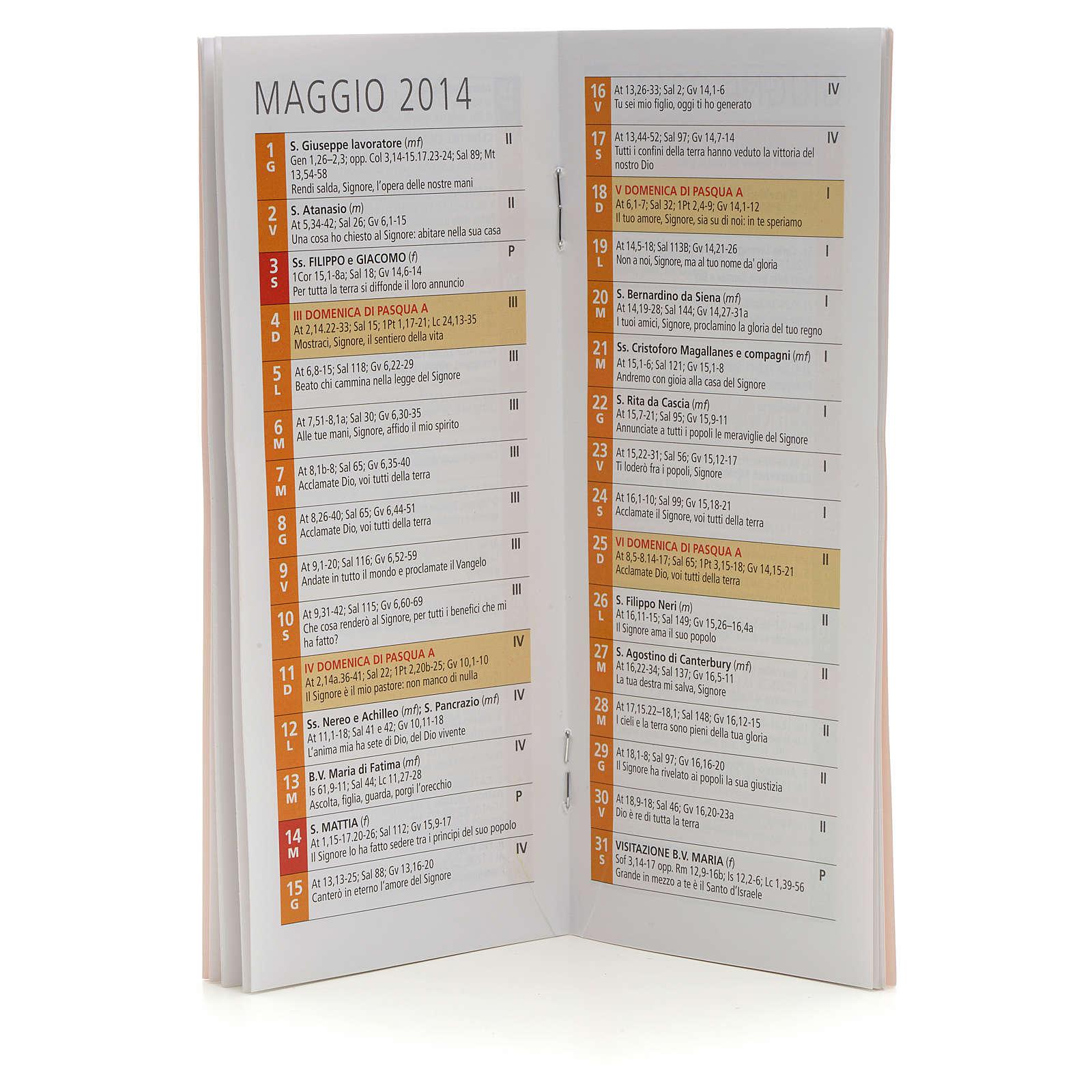 Calendario liturgico 2014 EDB 4