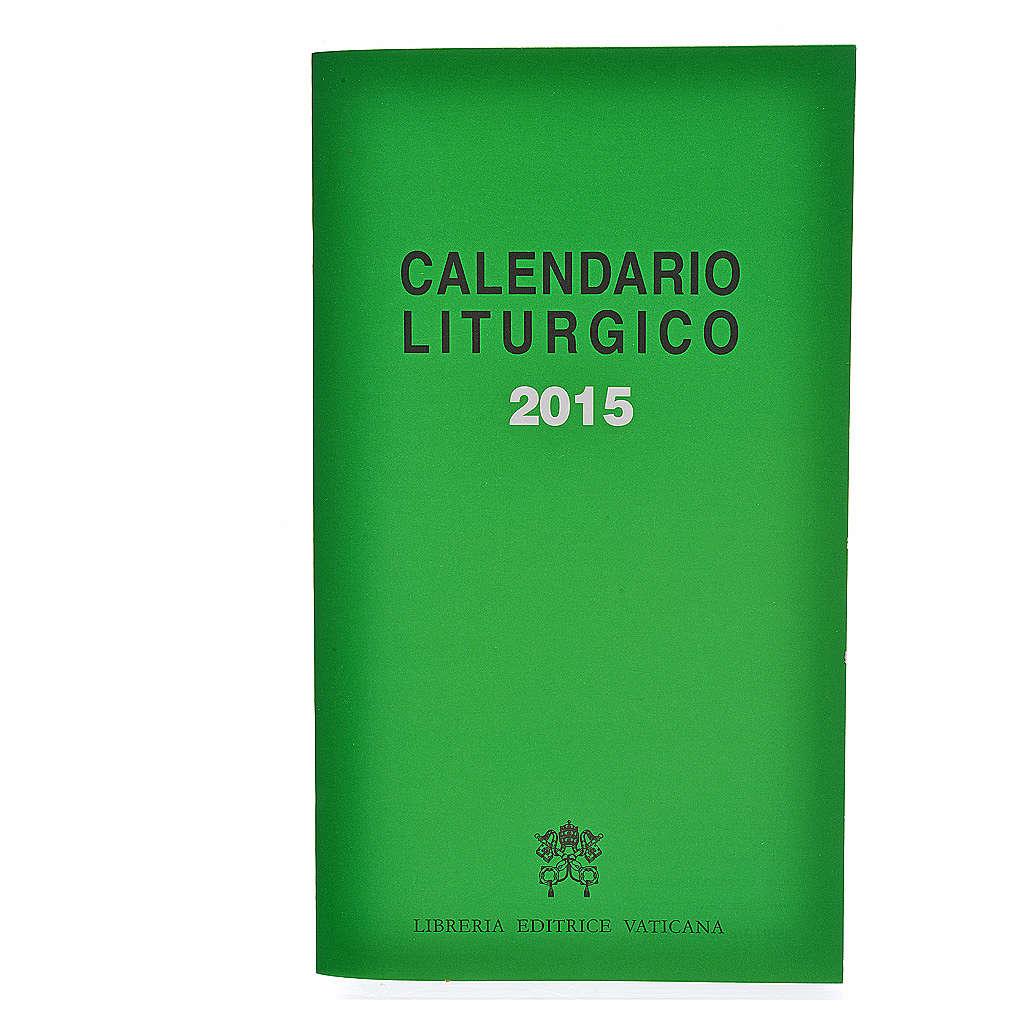 Calendario Liturgico 2015 editrice Vaticana 4