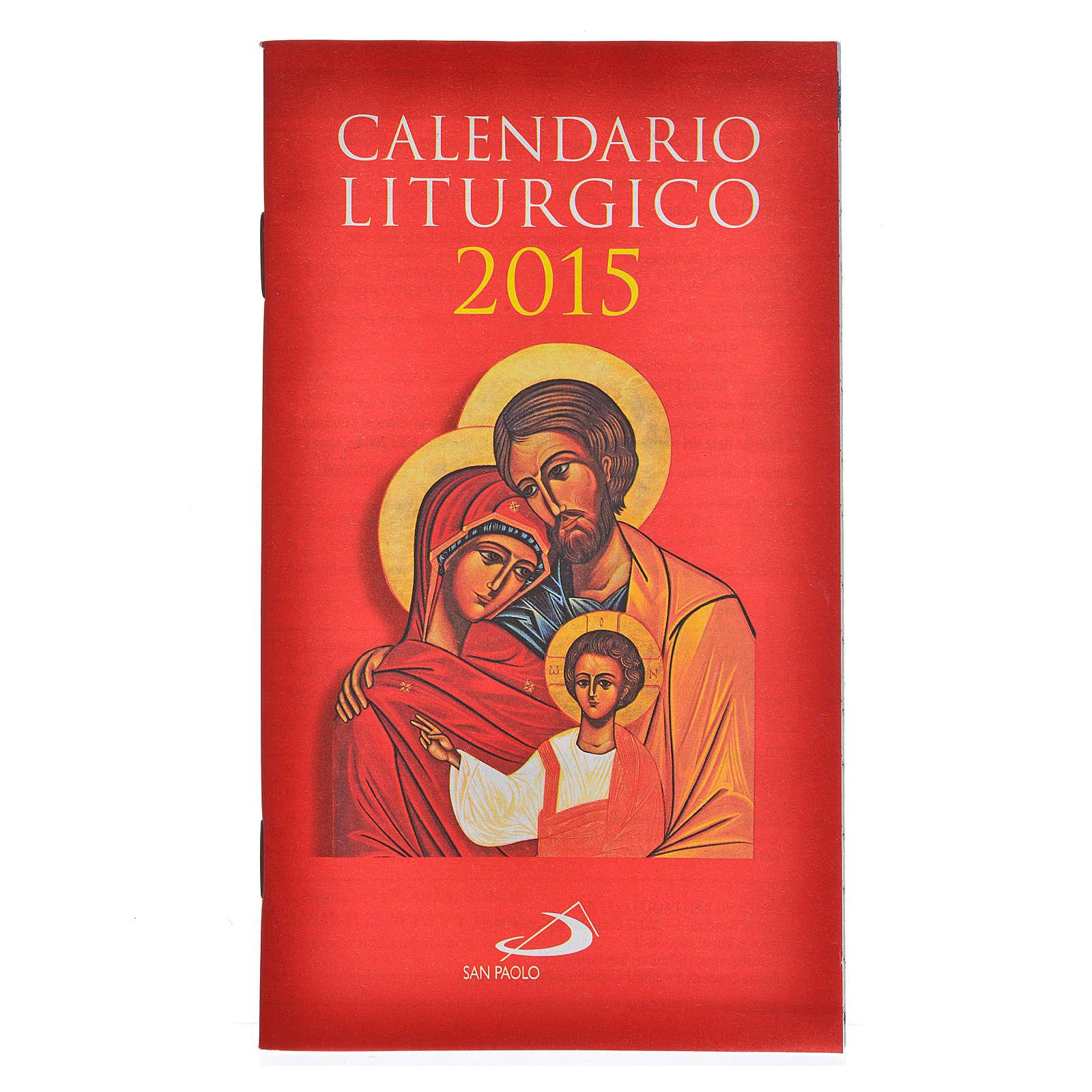 Calendario Liturgico 2015 San Paolo 4