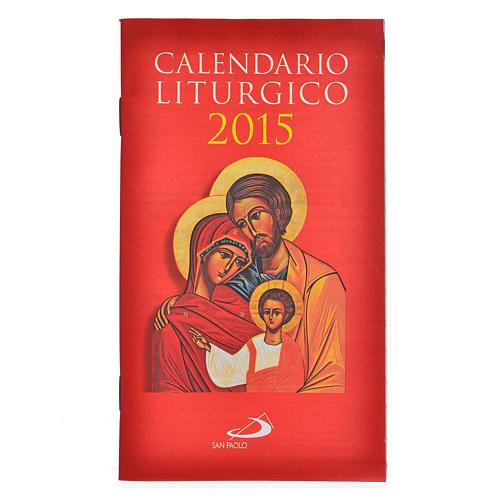 Calendario Liturgico 2015 San Paolo 1