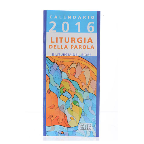 Calendario liturgico 2016 ed. Dehoniane 1