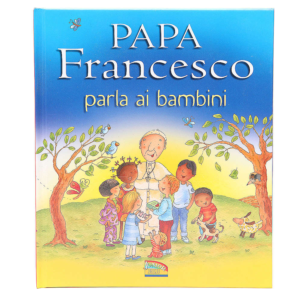 Pope Francis talks to the children 4