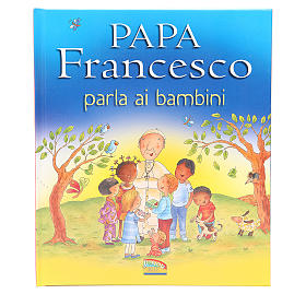 Pope Francis talks to the children s1
