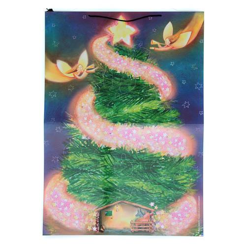 Adventskalender, Weihnachtsbaum-Motiv, mit Aufklebern 1