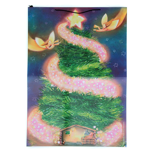 Christmas tree Advent calendar with stickers 1