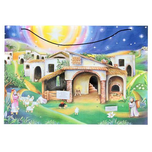 Calendario de Adviento cabaña 2
