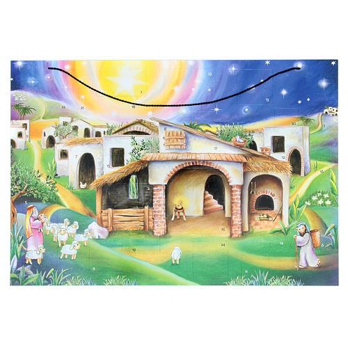 Calendário do Advento cabana 1