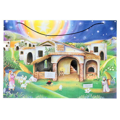 Advent calendar with hut 2