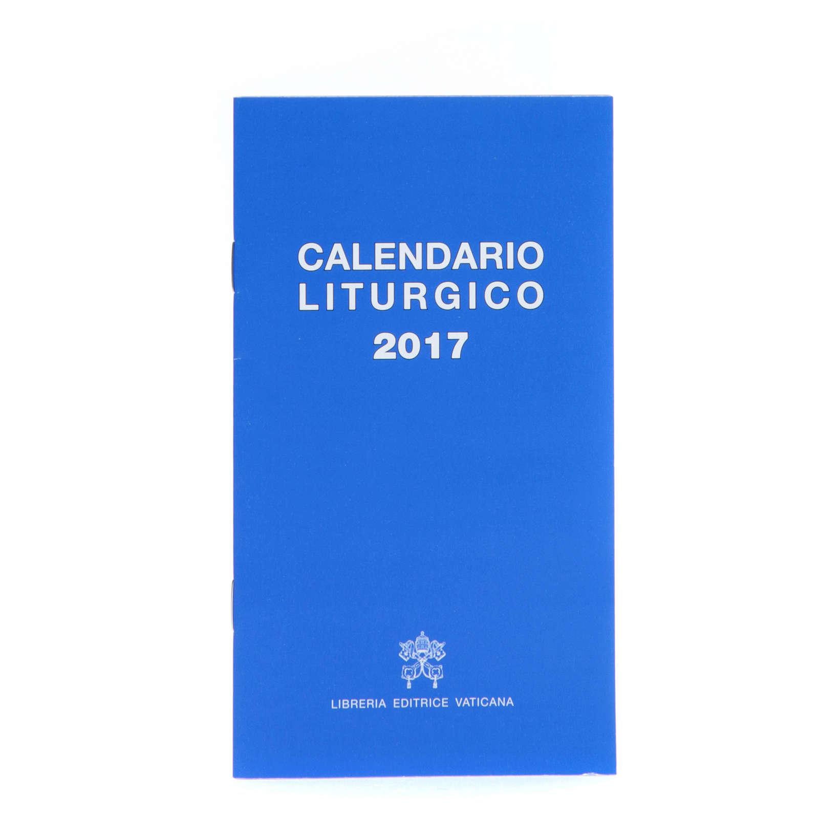 Calendario liturgico 2017 ed. Vaticana 4