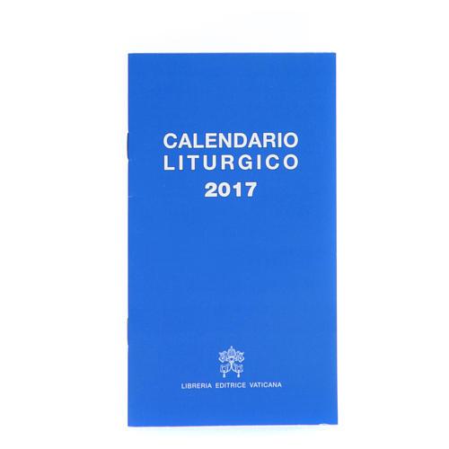Calendario liturgico 2017 ed. Vaticana 1