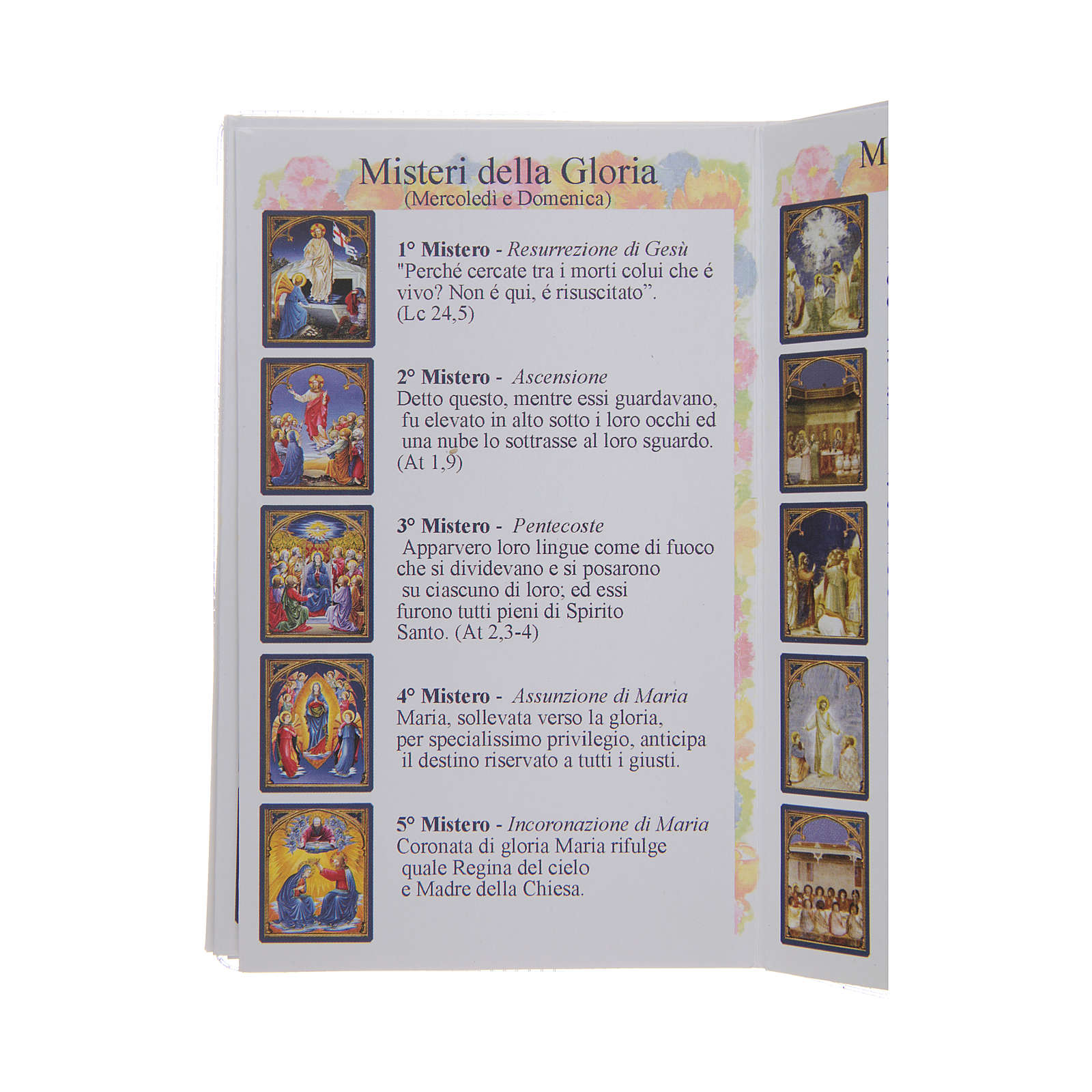Libretto Il santo Rosario in lingua italiana 4