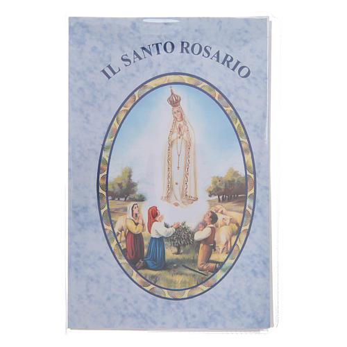 Libretto Il santo Rosario in lingua italiana 1