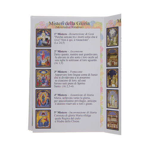The Holy Rosary booklet in Italian 4