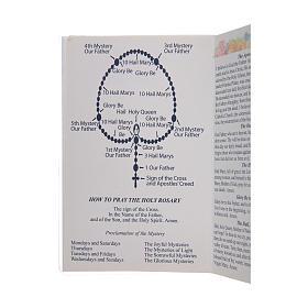 Libretto Il santo Rosario in lingua inglese s3