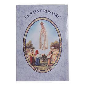 Libretto Il santo Rosario in lingua francese s1
