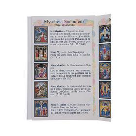 Libretto Il santo Rosario in lingua francese s4