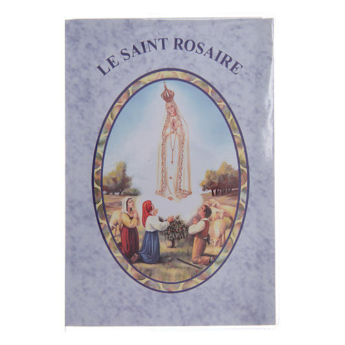 Libretto Il santo Rosario in lingua francese 1