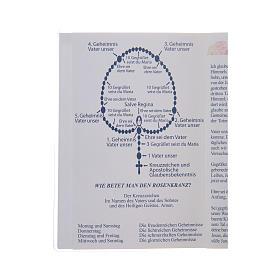 Libretto Il santo Rosario in tedesco s3