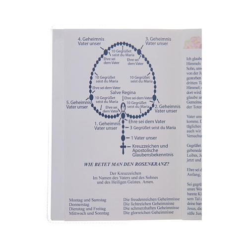 Libretto Il santo Rosario in tedesco 3