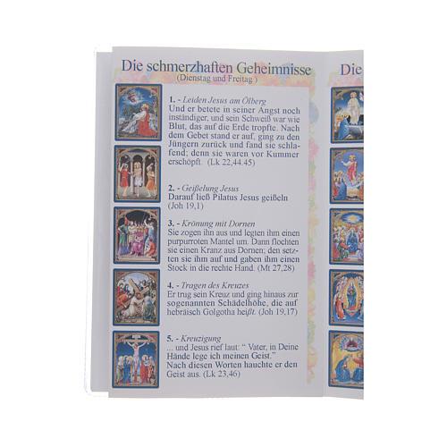 Libretto Il santo Rosario in tedesco 4