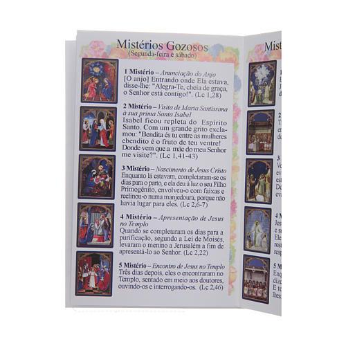 Libretto Il santo Rosario in portoghese 4