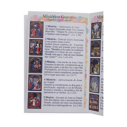 image regarding How to Pray the Rosary Printable Booklet named The Holy Rosary booklet within Portuguese on the internet income upon