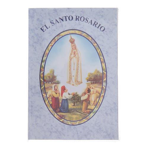 Libretto Il santo Rosario in spagnolo 1