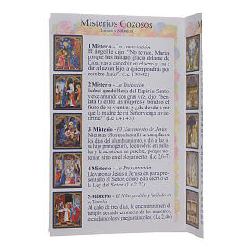 The Holy Rosary booklet in Spanish s4