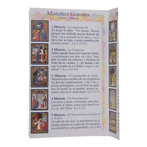 The Holy Rosary booklet in Spanish 4