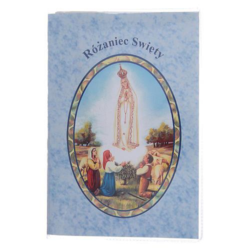 Libretto Il santo Rosario in polacco 1