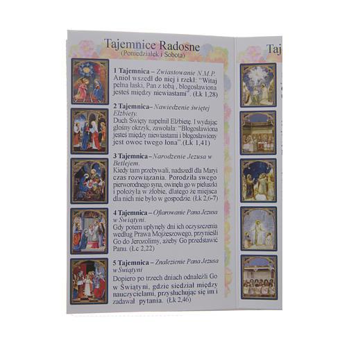 Libretto Il santo Rosario in polacco 4
