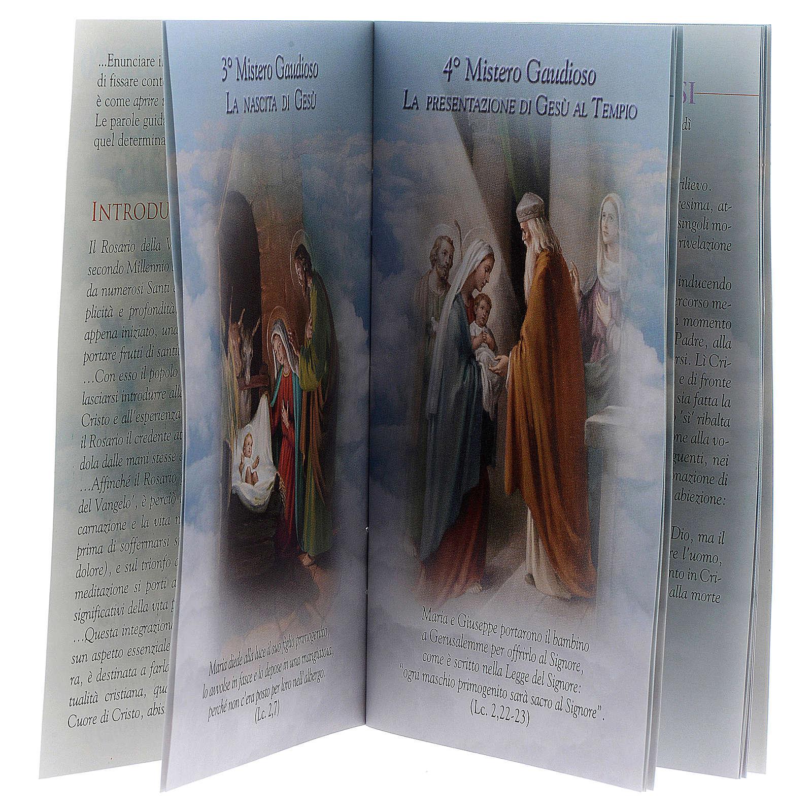 The Holy Rosary illustrated ITALIAN 4