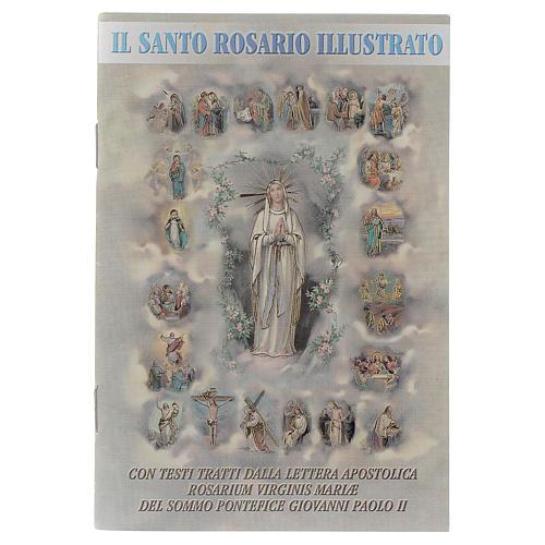 The Holy Rosary illustrated ITALIAN 1