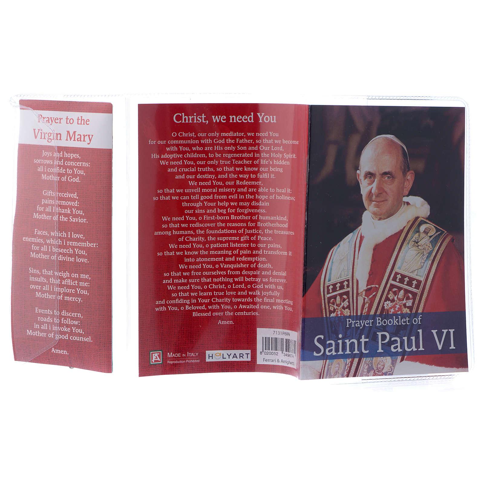 Prayer Booklet of Saint Paul VI - ENGLISH 4