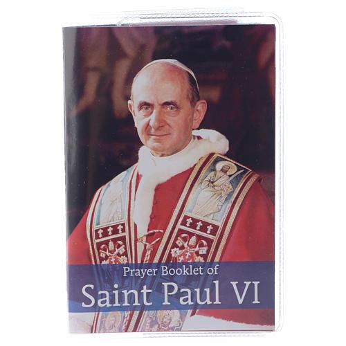 Prayer Booklet of Saint Paul VI - ENGLISH 1