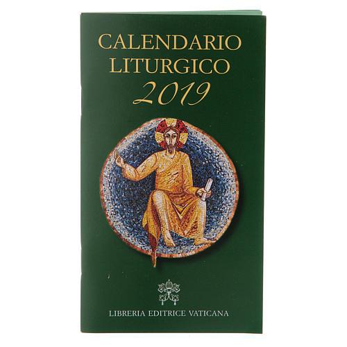 Calendario liturgico 2019 1