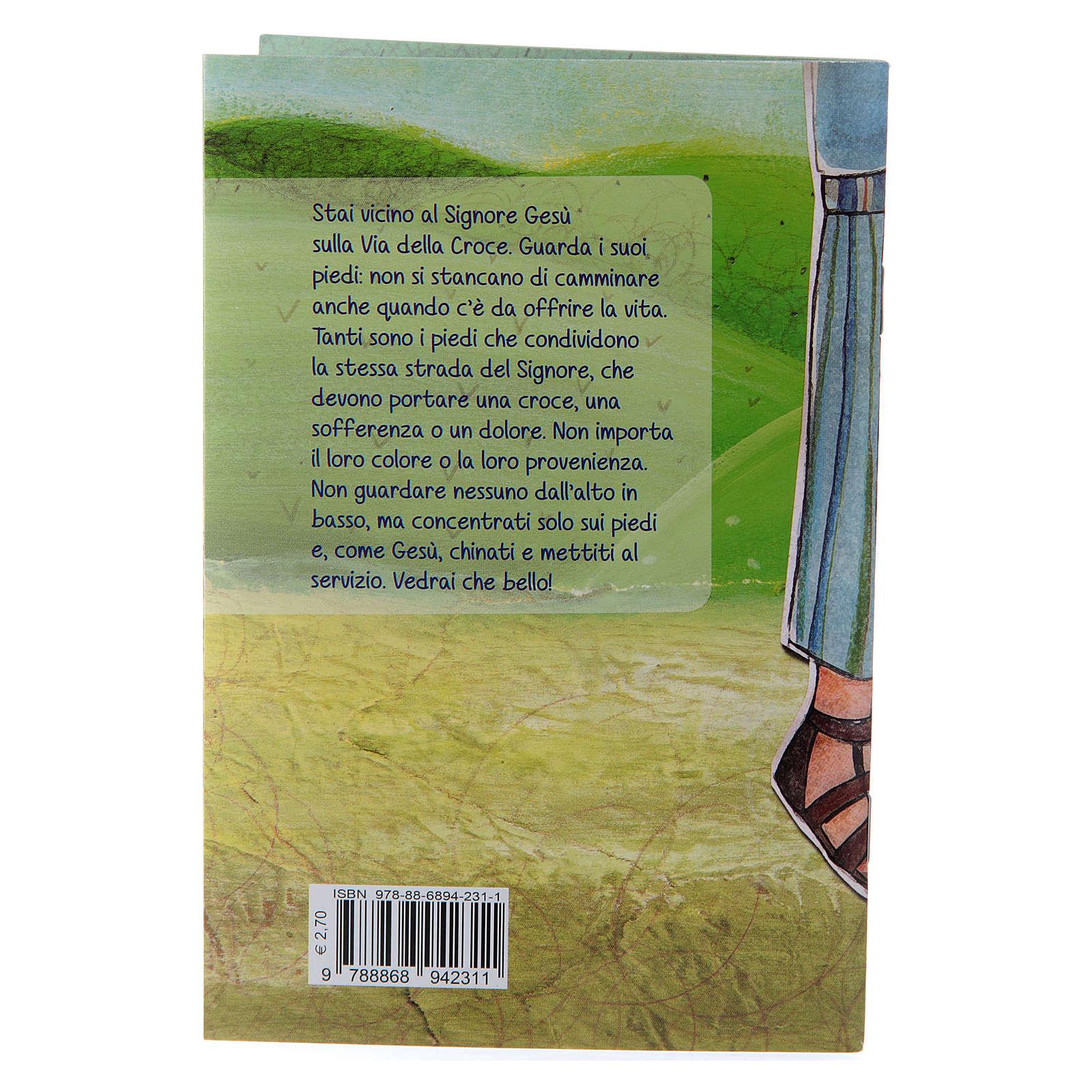 Libretto Con i piedi per terra Via crucis per i ragazzi 4