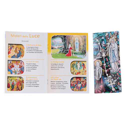 Libretto rosario Vergine di Lourdes e rosario ITA 3