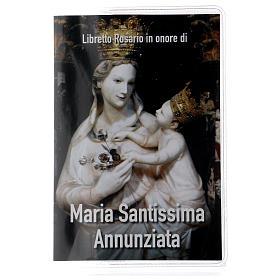 Libretto rosario Maria SS. Annunziata e rosario ITA s1